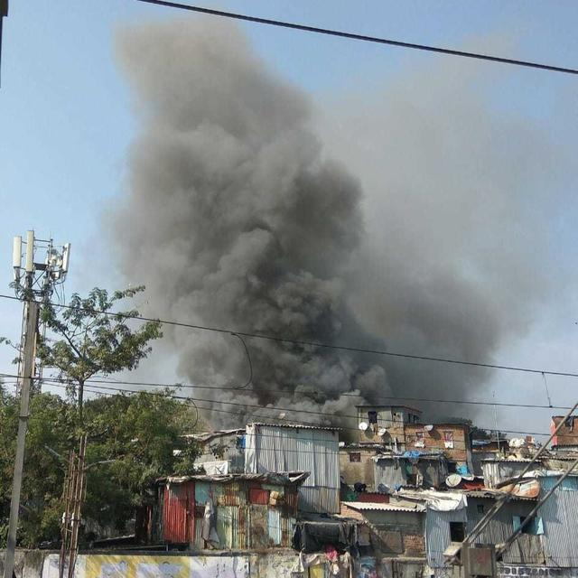 FIRE BREAKS OUT IN MUMBAI'S BANDRA WEST: LIVE UPDATES