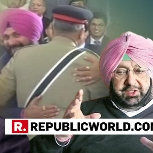 TOLD SIDHU NOT TO GO TO PAK; ALLOWED ONLY PERSONAL VISIT: PUNJAB CM