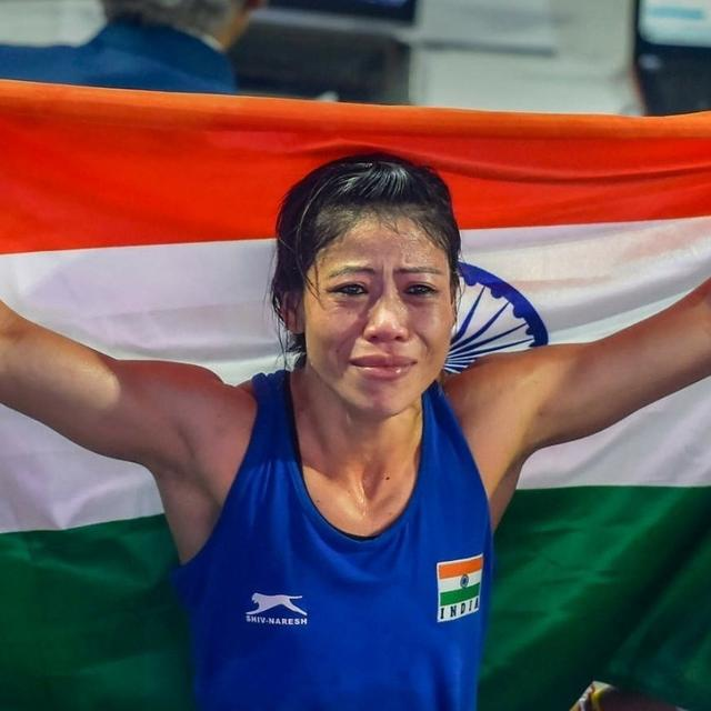 MARY KOM SETS HER SIGHTS ON OLYMPIC GOLD