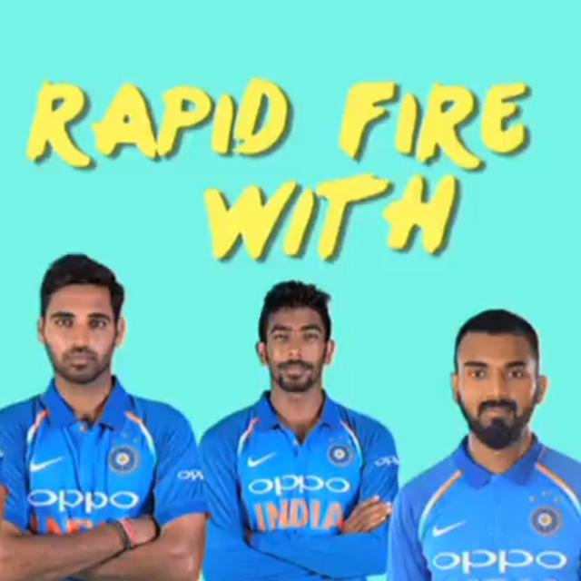 WATCH: INDIAN PLAYERS ANSWER FUNNY RAPID-FIRE QUESTIONS