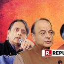 SHASHI THAROOR AND ARUN JAITLEY ENGAGE IN WAR OF WORDS