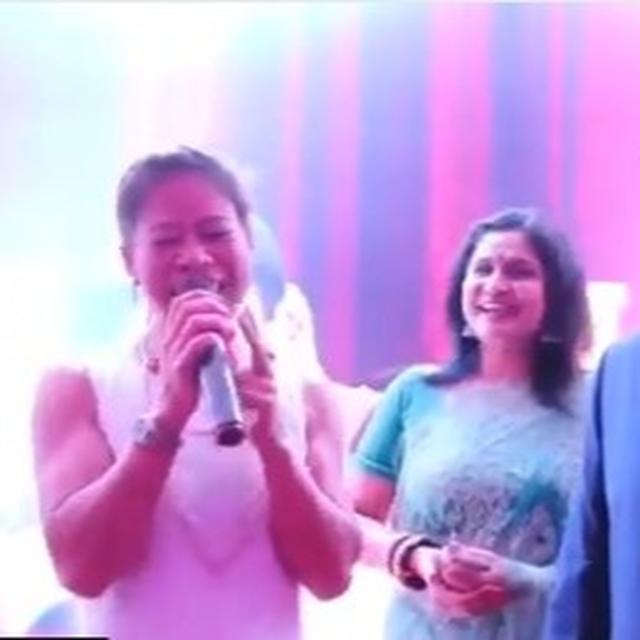 WATCH: MARY KOM SINGING 'AJEEB DASTAN'