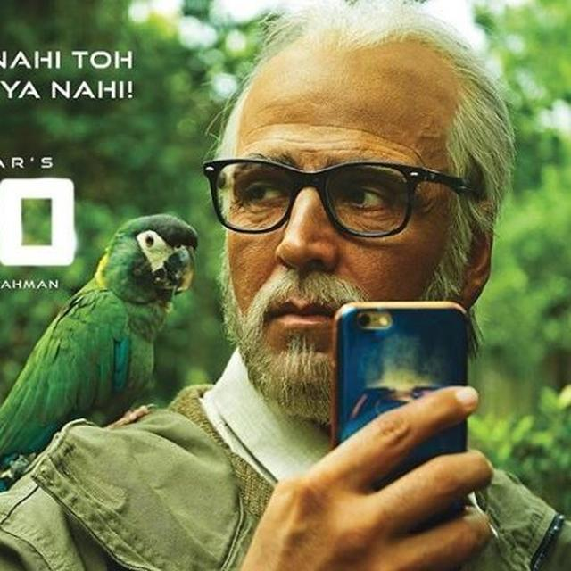 AKSHAY KUMAR EXTENDS THE MESSAGE OF CO-EXISTENCE WITH A NEW POSTER OF '2.0'