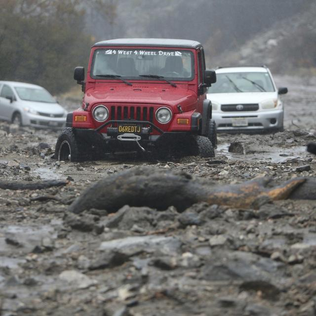 RAIN CAUSES CONCERN FOR CALIFORNIA'S WILDFIRE-BURNED AREAS