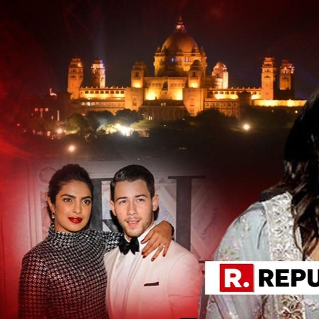 WATCH: RAJASTHANI WELCOME FOR GUESTS,UMAID BHAWAN WONDERFULLY LIT, BEAUTIFULLY DECORATED FOR PRIYANKA CHOPRA-NICK JONAS WEDDING