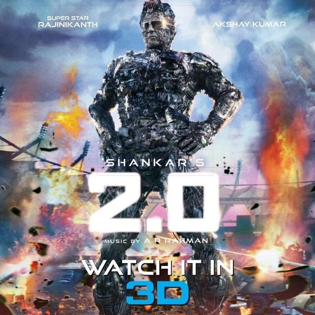 2.0: RAJINIKANTH-AKSHAY KUMAR STARRER HOLDS STEADY AFTER A SUPERB START, EARNS RS 18 CRORE ON DAY TWO
