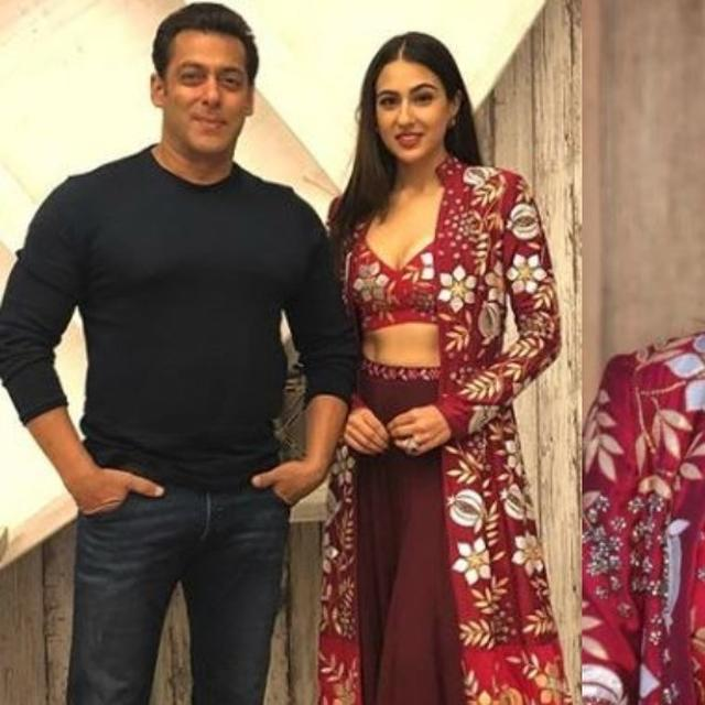 SARA ALI KHAN'S STYLISH AVATAR AS SHE TAKES 'KEDARNATH' TO 'BIGG BOSS', SHOOTS WITH THE 'BIGGEST BOSS' SALMAN KHAN