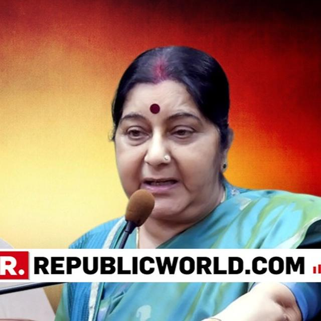 I HOPE WE NEVER SEE THE DAY WHEN WE HAVE TO LEARN WHAT IT IS TO BE A HINDU FROM HIM: SUSHMA SWARAJ ON RAHUL GANDHI'S HINDU COMMENT