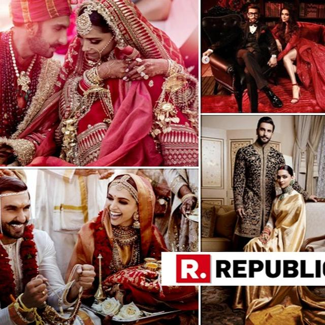 FROM LAKE COMO TO MUMBAI, DEEPIKA PADUKONE-RANVEER SINGH'S BEAUTIFUL WEDDING JOURNEY IN PICTURES