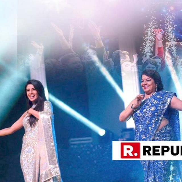 MADHU CHOPRA ROCKS THE STAGE WITH 'DESI THUMKAS' AT PRIYANKA CHOPRA AND NICK JONAS' SANGEET CEREMONY