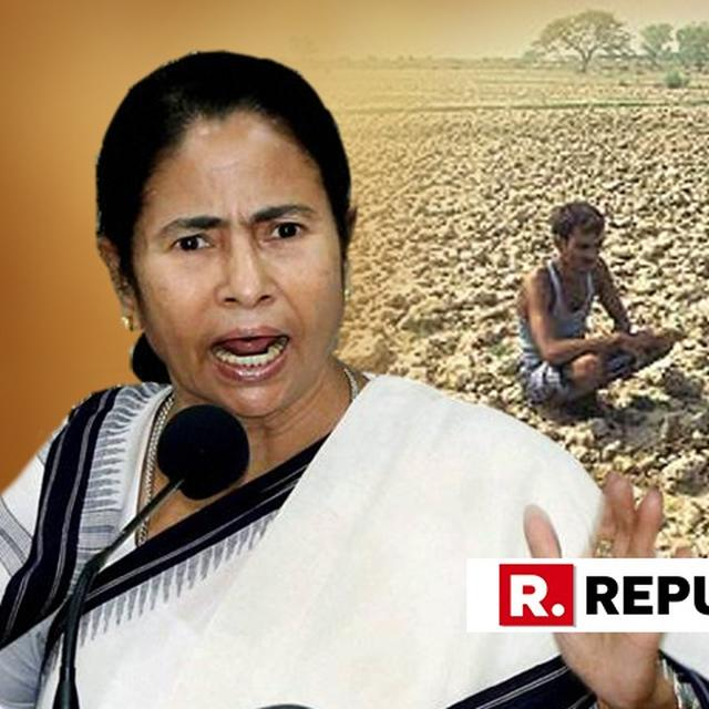 MAMATA BANERJEE HITS OUT AT BJP ON FARMER'S ISSUES