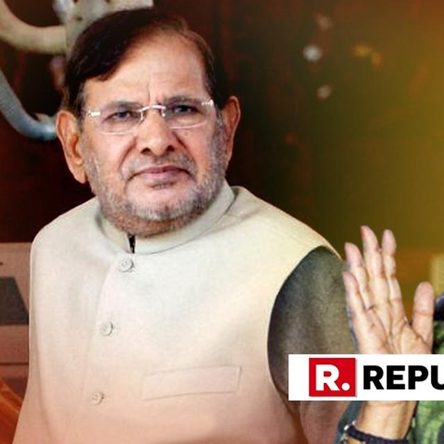 """I SAID IT AS A JOKE"", SHARAD YADAV ON HIS SEXIST COMMENT"