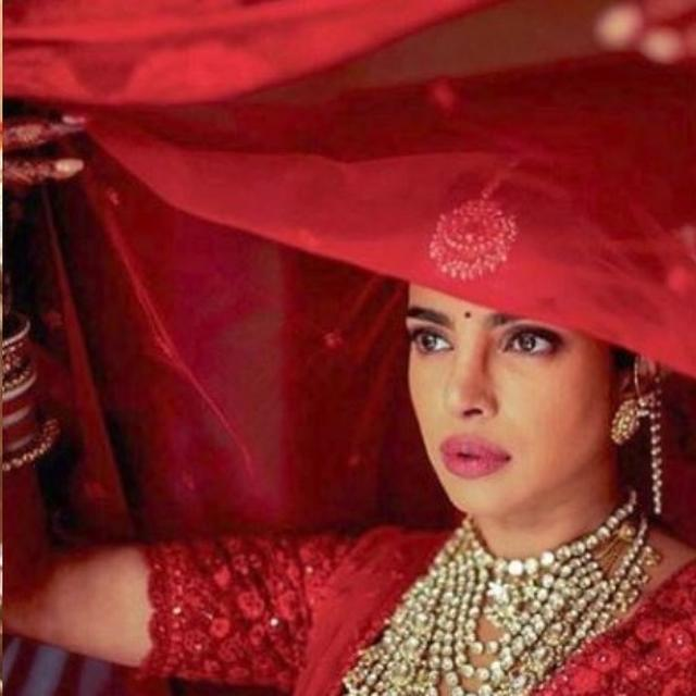 NAMES OF 3 MOST IMPORTANT PEOPLE IN PRIYANKA CHOPRA'S LIFE SEWN, 110 EMBROIDERERS AND MORE: ALL ABOUT THE ACTRESS' BRIDAL OUTFIT