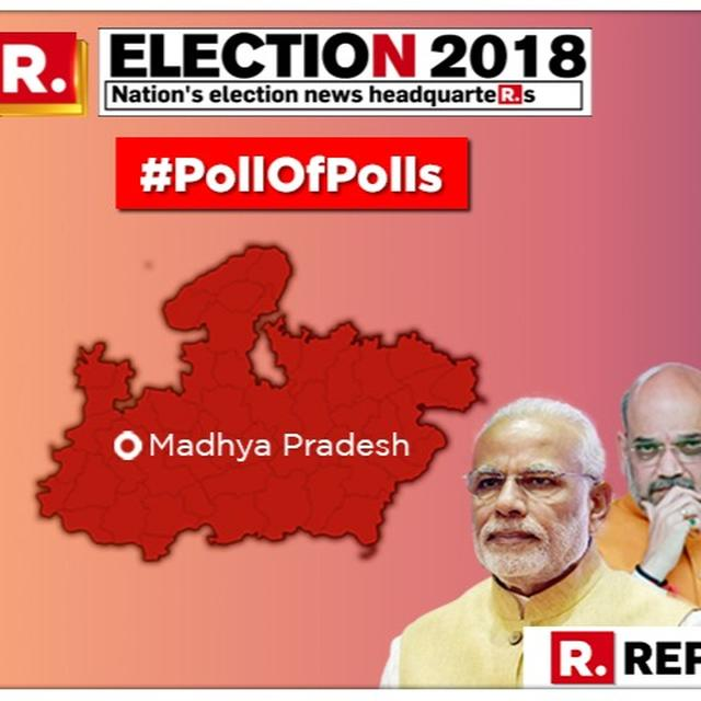 MADHYA PRADESH ELECTIONS 2018: BJP TO COME TO POWER IN BHOPAL