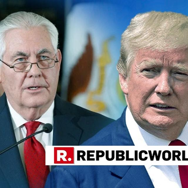 'TRUMP IS UNDISCIPLINED': FORMER US SECRETARY OF STATE REX TILLERSON