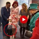 WATCH: OVERWHELMED KID CRAWLS OUT OF MEETING WITH THE QUEEN