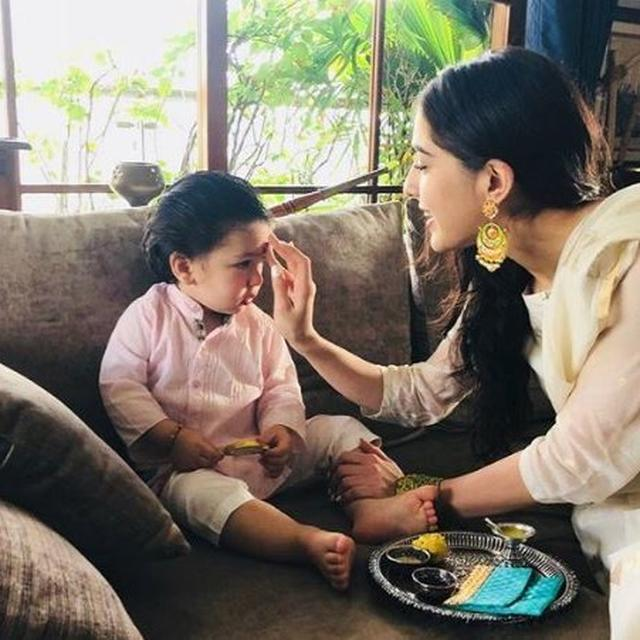 TAIMUR ALI KHAN GAVE THIS TO HALF-SISTER SARA ALI KHAN AS A RAKSHA BANDHAN GIFT