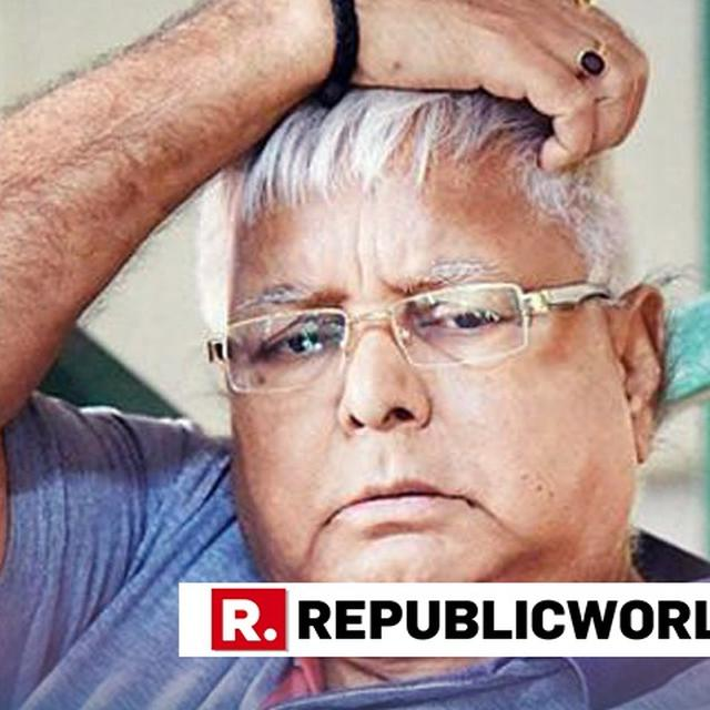 AFTER MASSIVE VIJAY MALLYA AND URJIT PATEL'S RESIGNATION, LALU PRASAD YADAV CONFOUNDS NETIZENS WITH A CRYPTIC TWEET