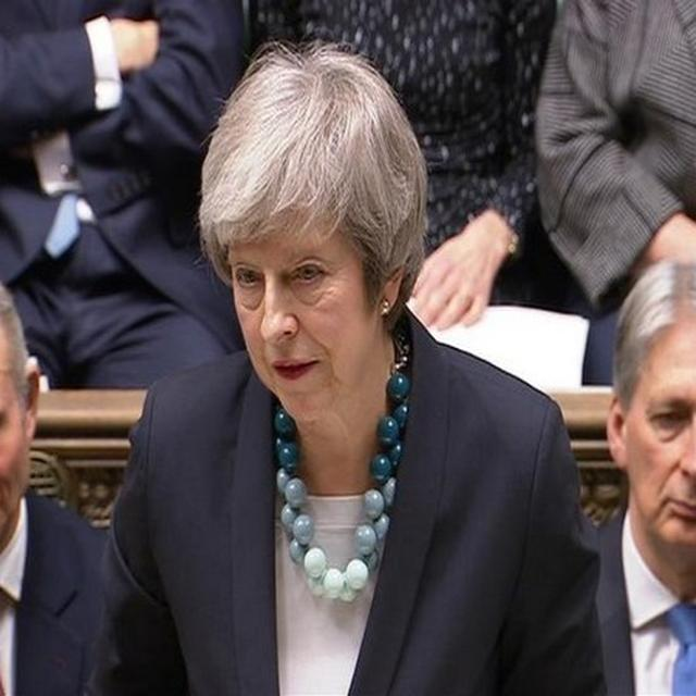 THERESA MAY DELAYS BREXIT DEAL VOTE