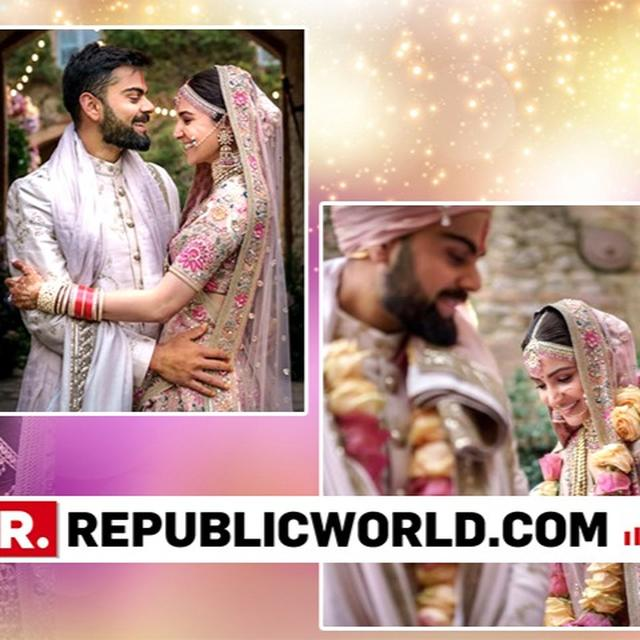 VIRAT KOHLI AND ANUSHKA SHARMA MARK ONE YEAR OF MARRIAGE BY SHARING A DREAMY VIDEO AND UNSEEN PICTURES FROM THEIR GRAND WEDDING