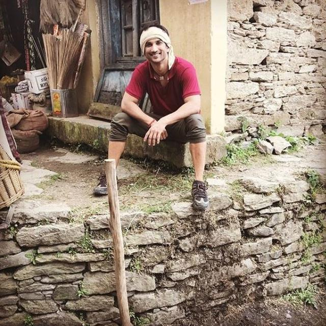 SUSHANT SINGH RAJPUT REMINISCES HIS JOURNEY AS MANSOOR KHAN FROM 'KEDARNATH'