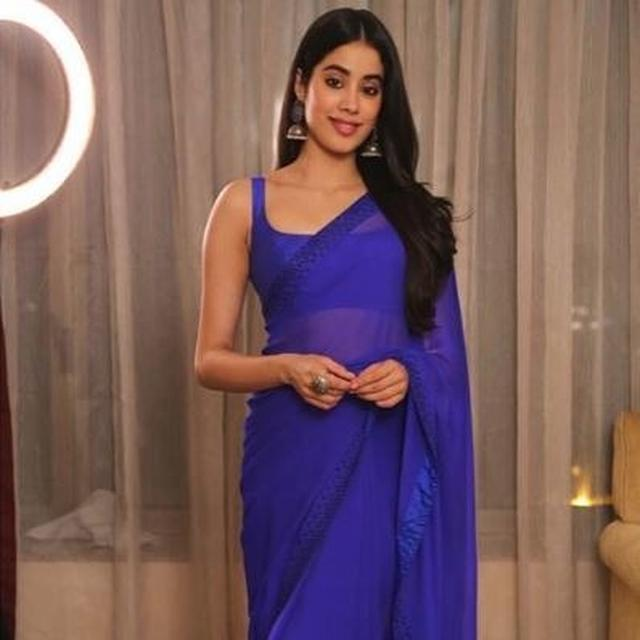 JANHVI KAPOOR ACES THE SAREE LOOK AS SHE'S HONOURED WITH 'RISING TALENT OF THE YEAR' AWARD AT NORWEGIAN CONSULATE GENERAL