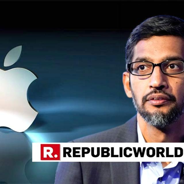 CONGRESSMAN, THE IPHONE IS MADE BY A DIFFERENT COMPANY: SUNDAR PICHAI