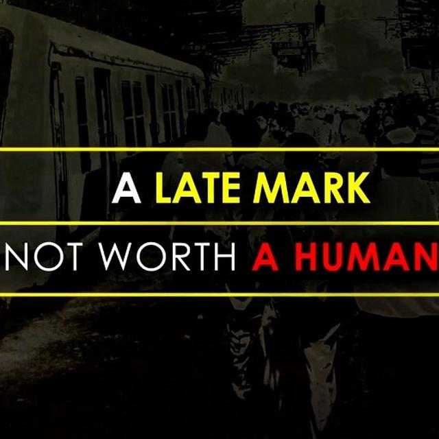 A Late Mark Is Not Worth A Human Life