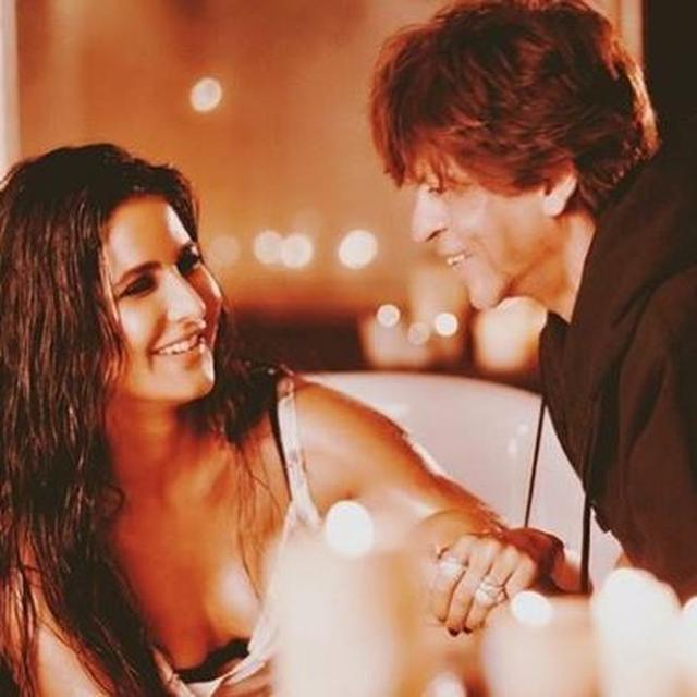 KATRINA KAIF WAS ASKED IF SHE FELT 'LUCKY' ABOUT BEING THE FIRST ACTRESS TO KISS SHAH RUKH KHAN ON SCREEN; HERE'S WHAT SHE SAID