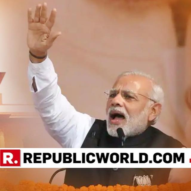 """""""CONGRESS HAS PLAYED GAMES TO DESTROY THE JUDICIARY SYSTEM"""" PM MODI STATED IN HIS ADDRESS IN PRAYAGRAJ"""