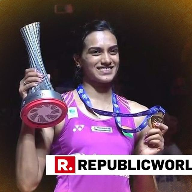 'I HAD TEARS IN MY EYES', SAYS PV SINDHU AFTER WINNING HER MAIDEN BWF WORLD TOUR FINALS TITLE