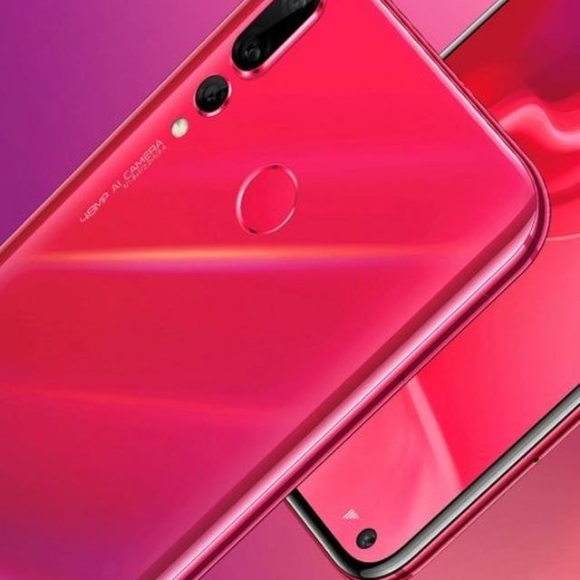 HUAWEI NOVA 4 LAUNCHED WITH 25MP PUNCH-HOLE SELFIE CAM, 48MP REAR SHOOTER