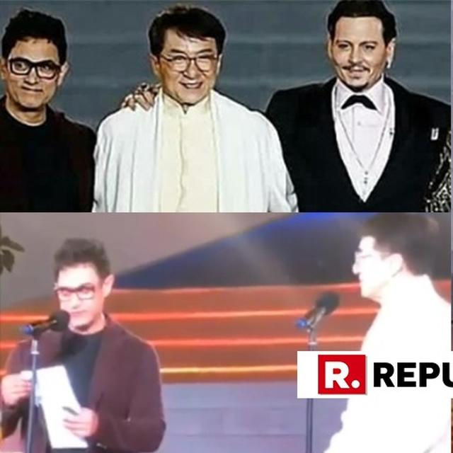 3 SUPERSTARS IN ONE FRAME: WHEN AAMIR KHAN, JACKIE CHAN AND JOHNNY DEPP CAME TOGETHER IN CHINA