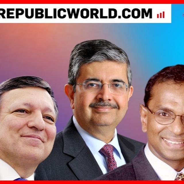 REPUBLIC SUMMIT 2018 | UDAY KOTAK, JOSE BARROSO AND MANU BHASKARAN INTERACT WITH SANJEEV SANYAL