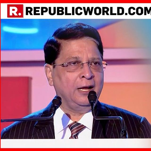YOU CANNOT IGNORE THE LADIES: FORMER CHIEF JUSTICE OF INDIA DIPAKMISRA TALKS ABOUT GENDER JUSTICE AT REPUBLIC SUMMIT 2018