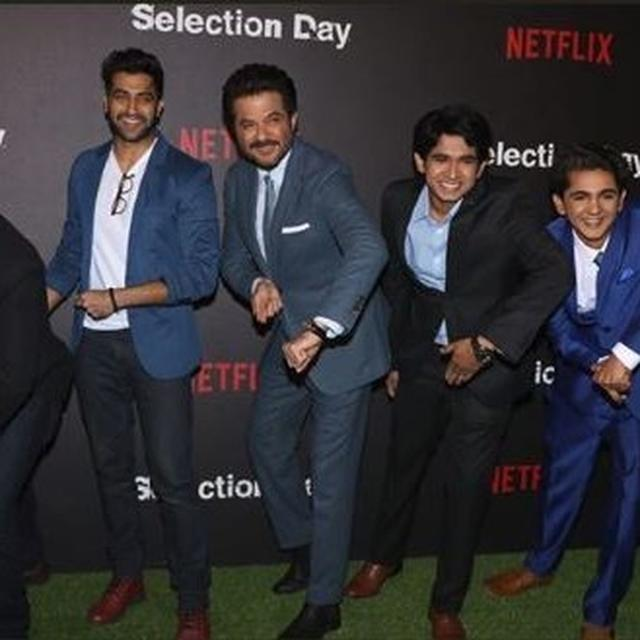 WITH NETFLIX PRODUCTION IS NOT A THANKLESS JOB: ANIL KAPOOR AT 'SELECTION DAY' PREMIERE