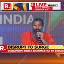 REPUBLIC SUMMIT 2018 | BABA RAMDEV HIGHLIGHTS GLOBAL IMPORTANCE OF NATURAL PRODUCTS MADE IN INDIA
