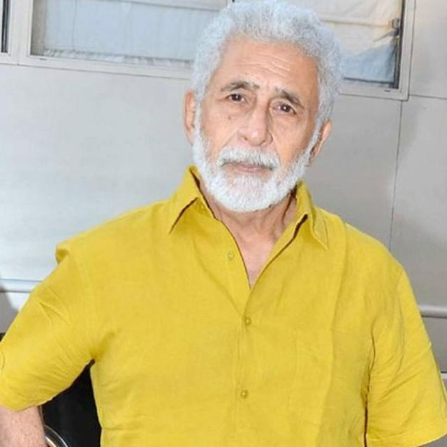 DEATH OF COW GIVEN MORE SIGNIFICANCE THAN THAT OF POLICE OFFICER: NASEERUDDIN SHAH