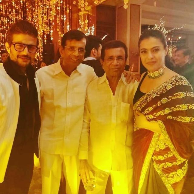 KAJOL HAS A 'BAAZIGAR' REUNION WITH ABBAS-MUSTAN AT PRIYANKA-NICK'S MUMBAI RECEPTION