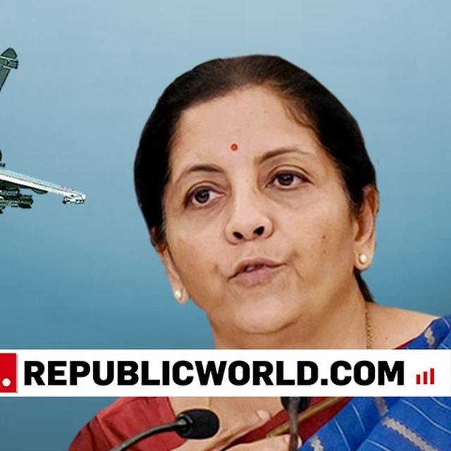 NEED TO PROTECT EVERY INCH OF DEFENCE ASSETS: NIRMALA SITHARAMAN