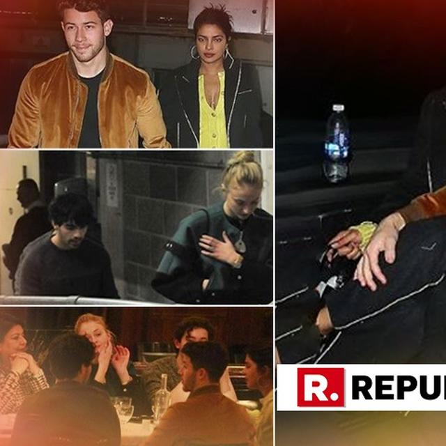 SNAPPED: CHOPRA AND JONAS FAMILIES REUNITE IN LONDON AS PRIYANKA-NICK SPEND SOME QUALITY TIME WITH THEIR LOVED ONES