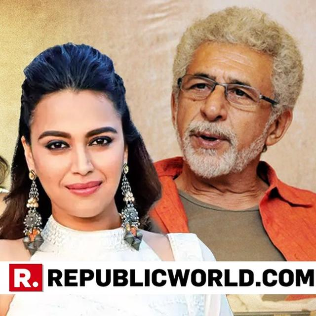 'MORE POWER TO YOU': SWARA BHASKER, RICHA CHADHA COME OUT IN SUPPORT OF NASEERUDDIN SHAH AFTER HIS CONTROVERSIAL REMARKS