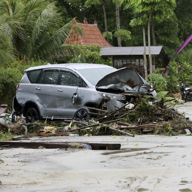 DEATH TOLL FROM INDONESIA TSUNAMI HAS NOW RISEN TO 281