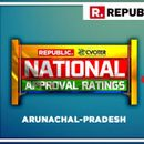 NATIONAL APPROVAL RATINGS: IN ARUNACHAL PRADESH, NDA PROJETCED TO GAIN BOTH SEATS