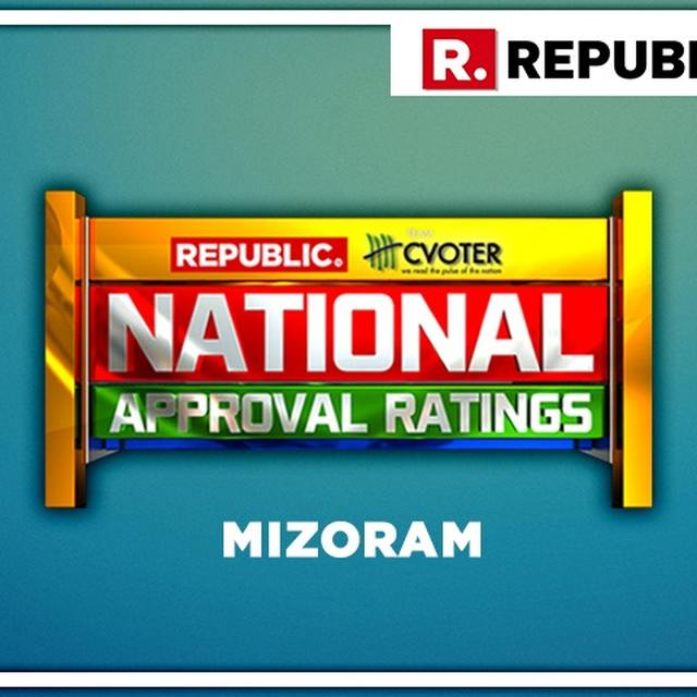 NATIONAL APPROVAL RATINGS: IN MIZORAM, MNF PROJECTED TO GAIN THE SOLE SEAT