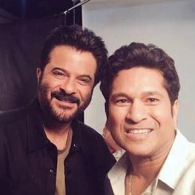 SACHIN TENDULKAR HAILS ANIL KAPOOR AS THE THE 'PIONEER' OF THIS PARTICULAR TRAIT AND WE COULDN'T AGREE MORE