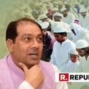 UP MINORITY AFFAIRS MINISTER MOHSIN RAZA HITS OUT AT CONGRESS OVER NAMAZ CONTROVERSY, SAYS 'ALWAYS PROVIDED SECURITY AND FREEDOM IN DEMOCRACY'