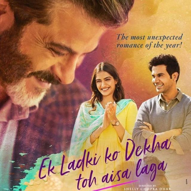 ANIL KAPOOR TEASES THE 'MOST UNEXPECTED ROMANCE OF THE YEAR' WITH A NEW POSTER OF 'EK LADKI KO DEKHA TOH AISA LAGA'