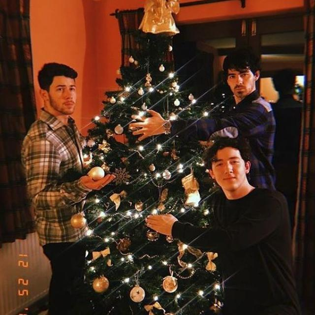 KEEPING UP WITH THE 'TRADITIONS' NICK JONAS CELEBRATES CHRISTMAS WITH HIS BROTHERS
