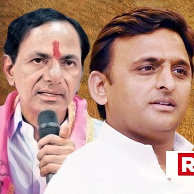 GATHBANDHAN DIVIDED: MIFFED AKHILESH SNUBS RAHUL GANDHI, WAXES LYRICAL ABOUT KCR'S NON-CONGRESS FEDERAL FRONT